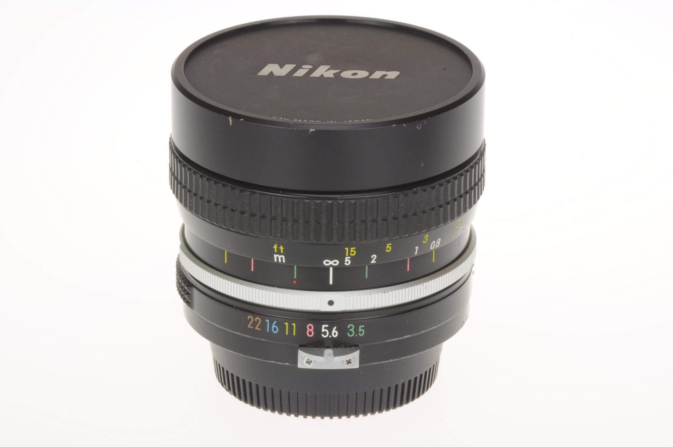 Nikon 16mm f3.5 Fish-eye Nikkor, pre-AI, serviced