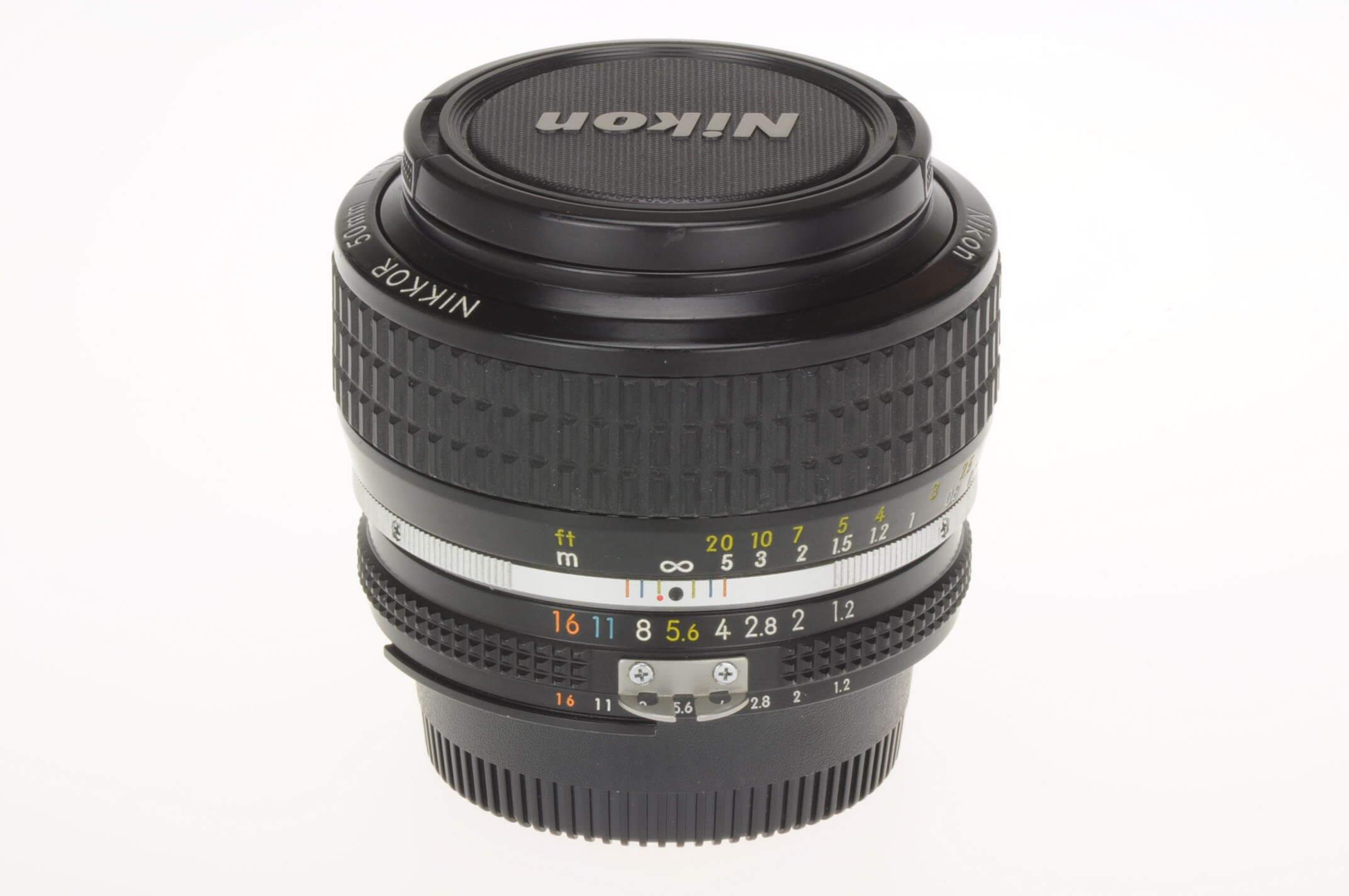 Nikon 50mm f1.2 Nikkor AIS, excellent condition, serviced