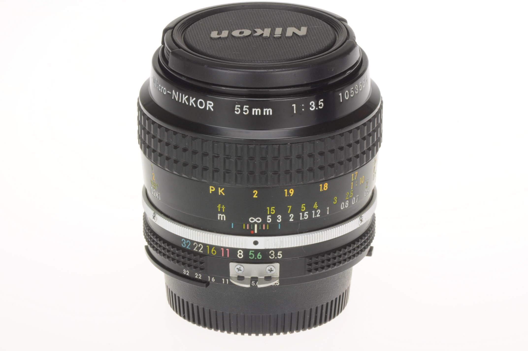 Nikon 55mm f3.5 Micro-Nikkor AI, almost mint, serviced!