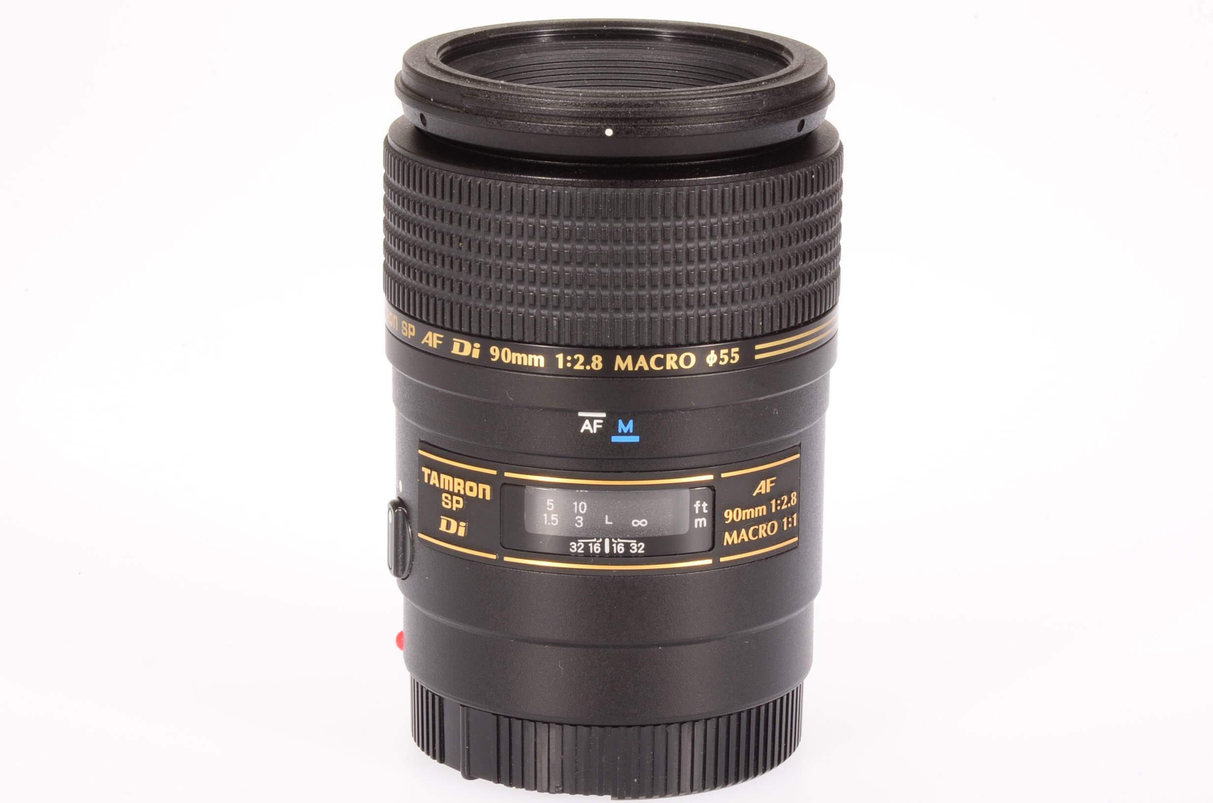 Tamron 90mm f2.8 Macro 1:1 SP Di lens, Sony/Minolta mount