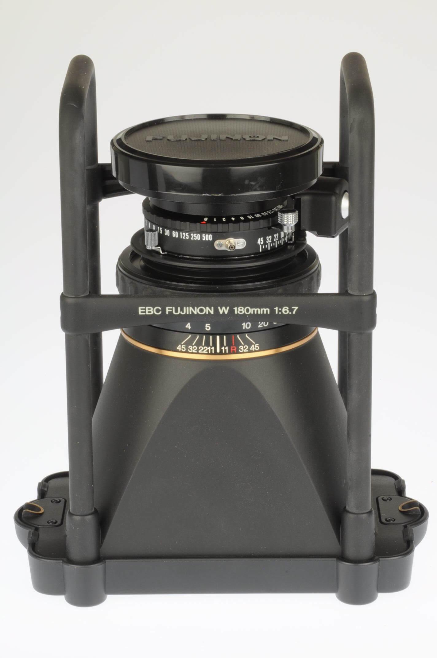 Fuji 180 f6.7 EBC W for GX617, totally mint!