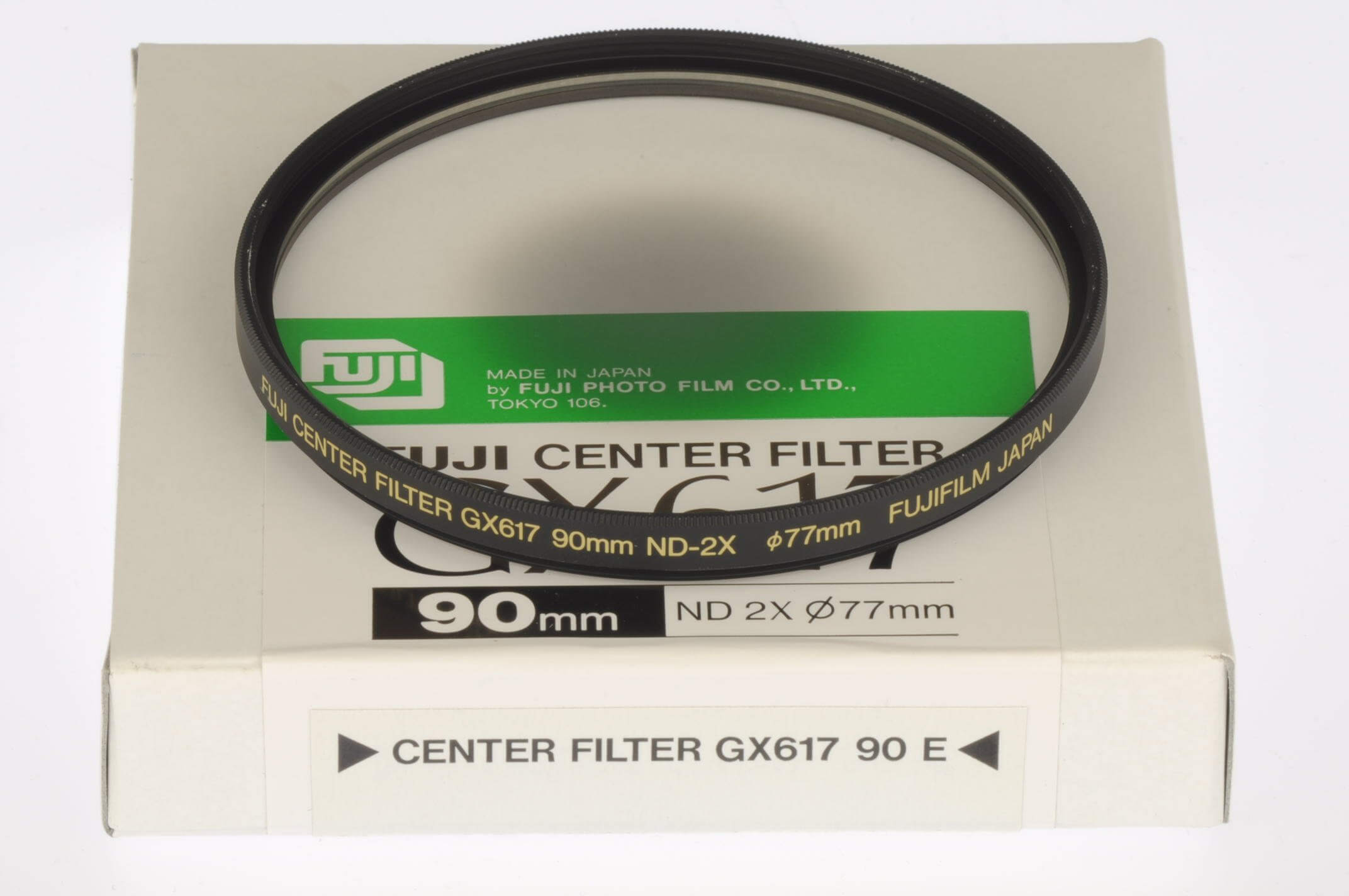 Fuji GX617 centre filter for 90mm lens, boxed and unused