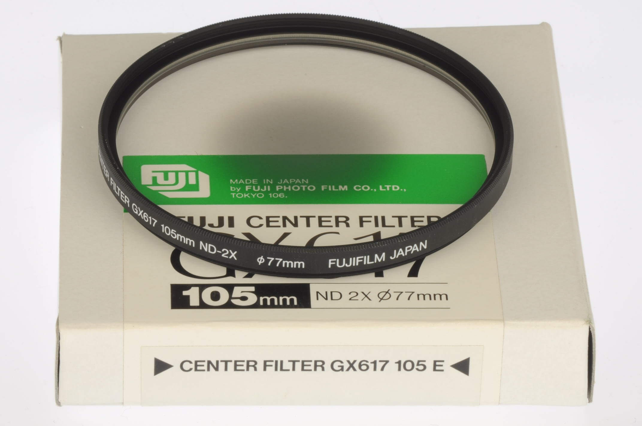 Fuji GX617 centre filter for 105mm lens, mint and boxed