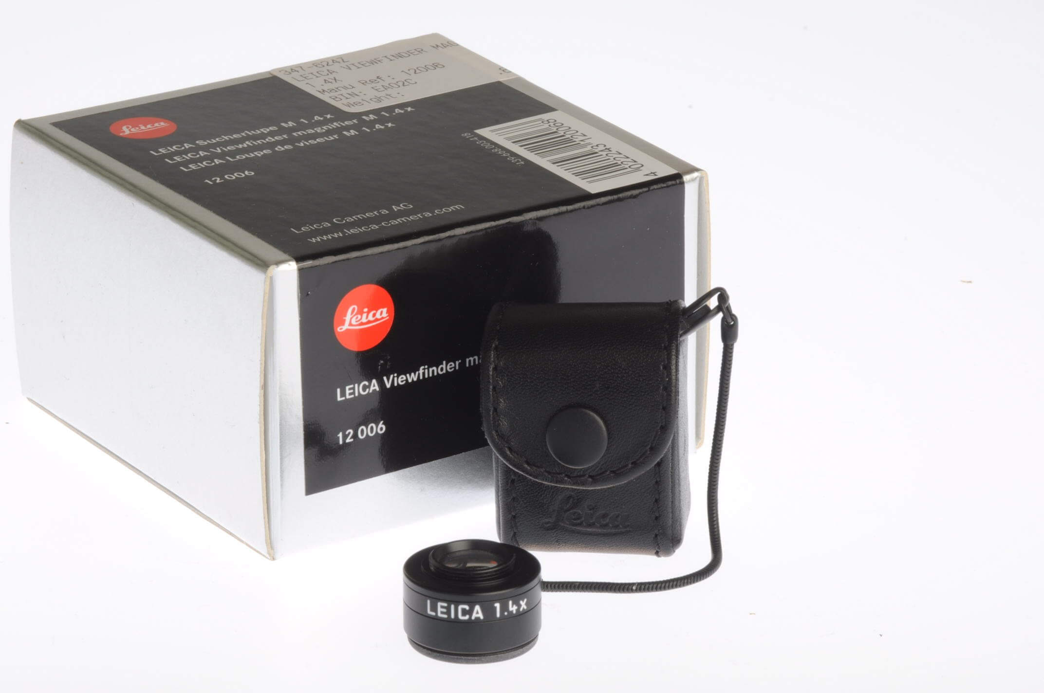 Leica 1.4x viewfinder magnifier, mint and boxed