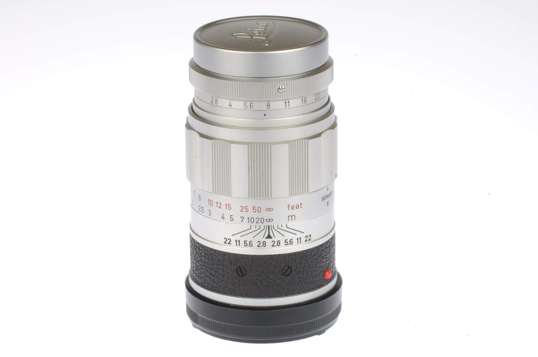 Leica 90mm f2.8 Elmarit, exceptional condition!