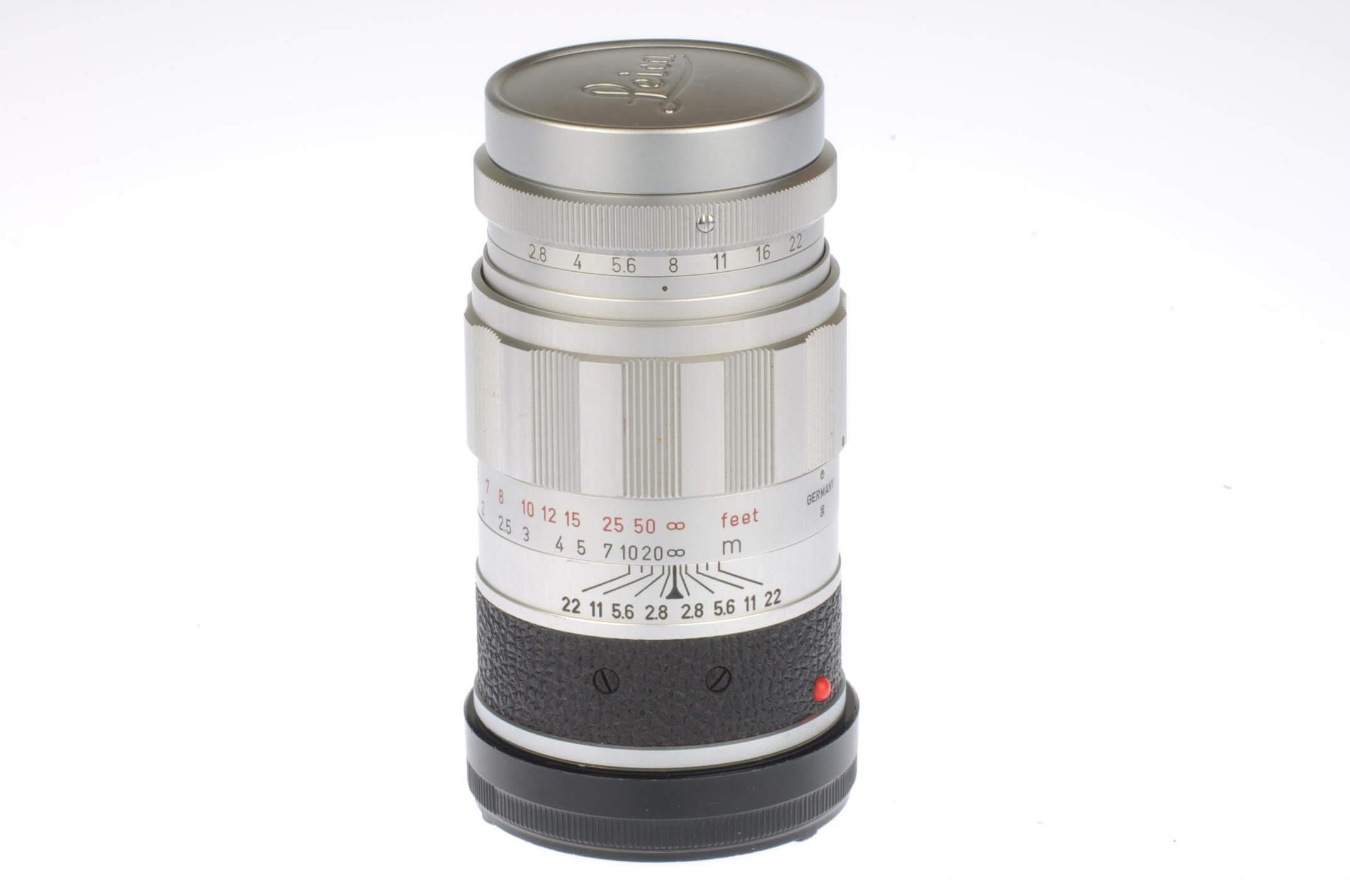 Leica 90mm f2.8 Elmarit, exceptional condition!