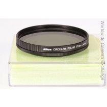Nikon circular polarizing filter, 77mm, mint!