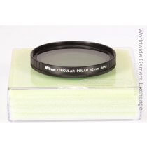 Nikon circular polarizing filter, 62mm, mint!