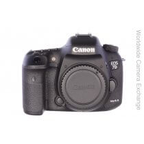 Canon EOS 7D Mark II body, only 6 actuations, unused!