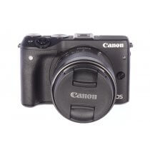 Canon EOS M3 with 18-55mm EF-M IS STM, MINT!