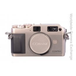 Contax G1 body, green label, almost mint