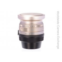 Contax 28mm f2.8 Biogon with hood and filter, G1/G2, MINT!