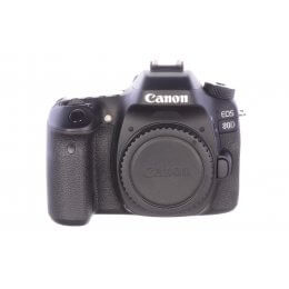 Canon EOS 80D body, 65 actuations, MINT!