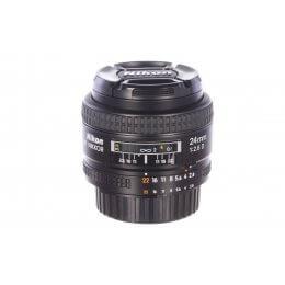 Nikon 24mm f2.8 Nikkor AF D, MINT! 6 month guarantee.