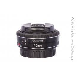 Canon 40mm f2.8 STM, MINT!