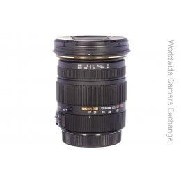 Sigma 17-50mm f2.8 EX HSM DC, Canon fitting