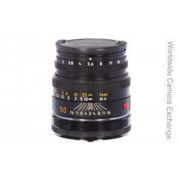 Leica 50mm f2 Summicron M, built-in hood
