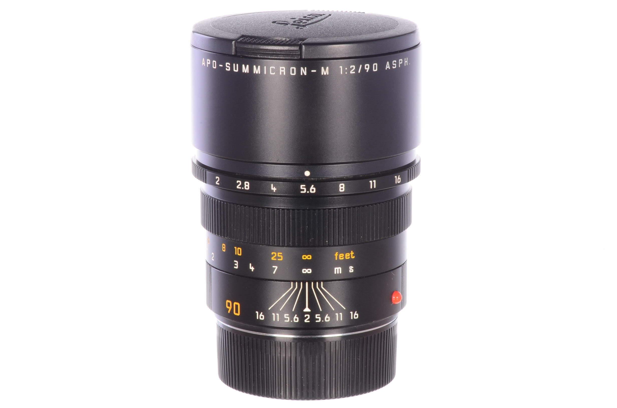 Leica 90mm f2 Apo-Summicron M ASPH – see description