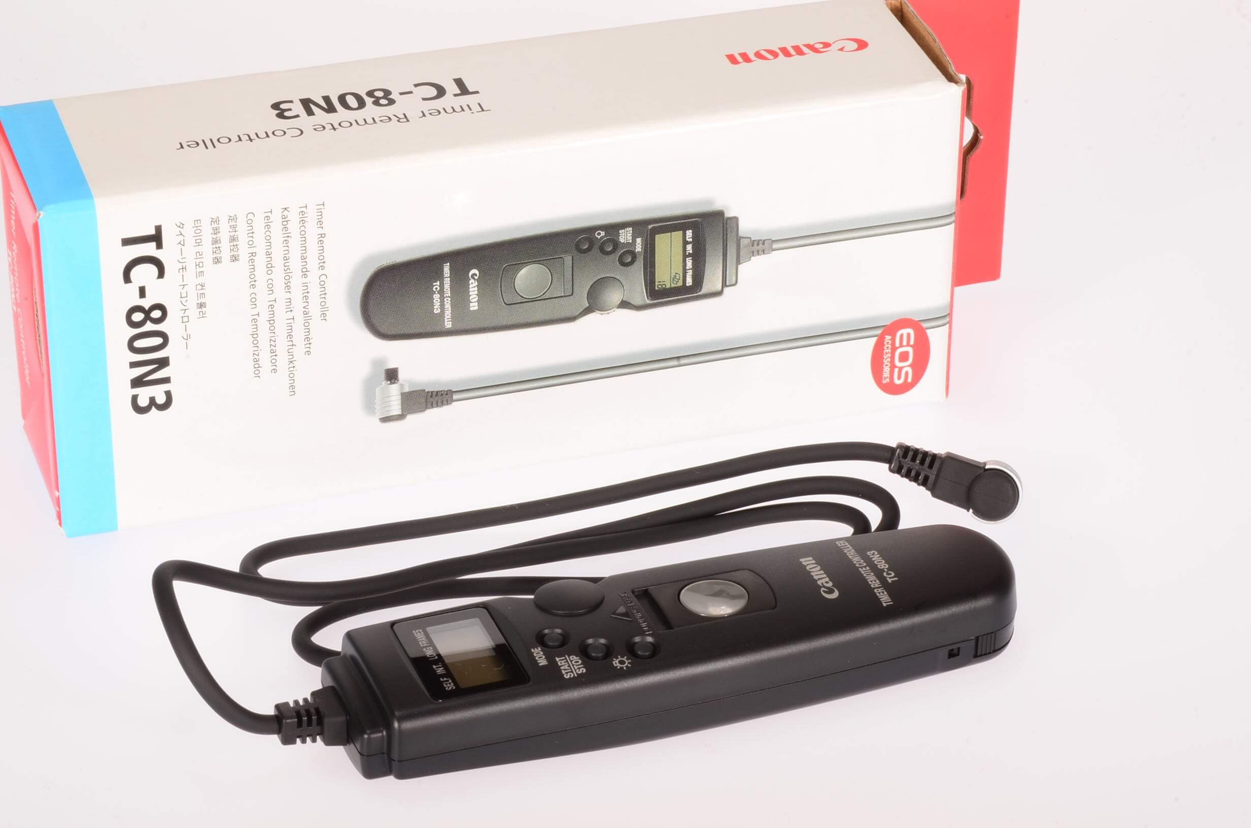 Canon TC-80N3 Timer Remote Controller, boxed and unused