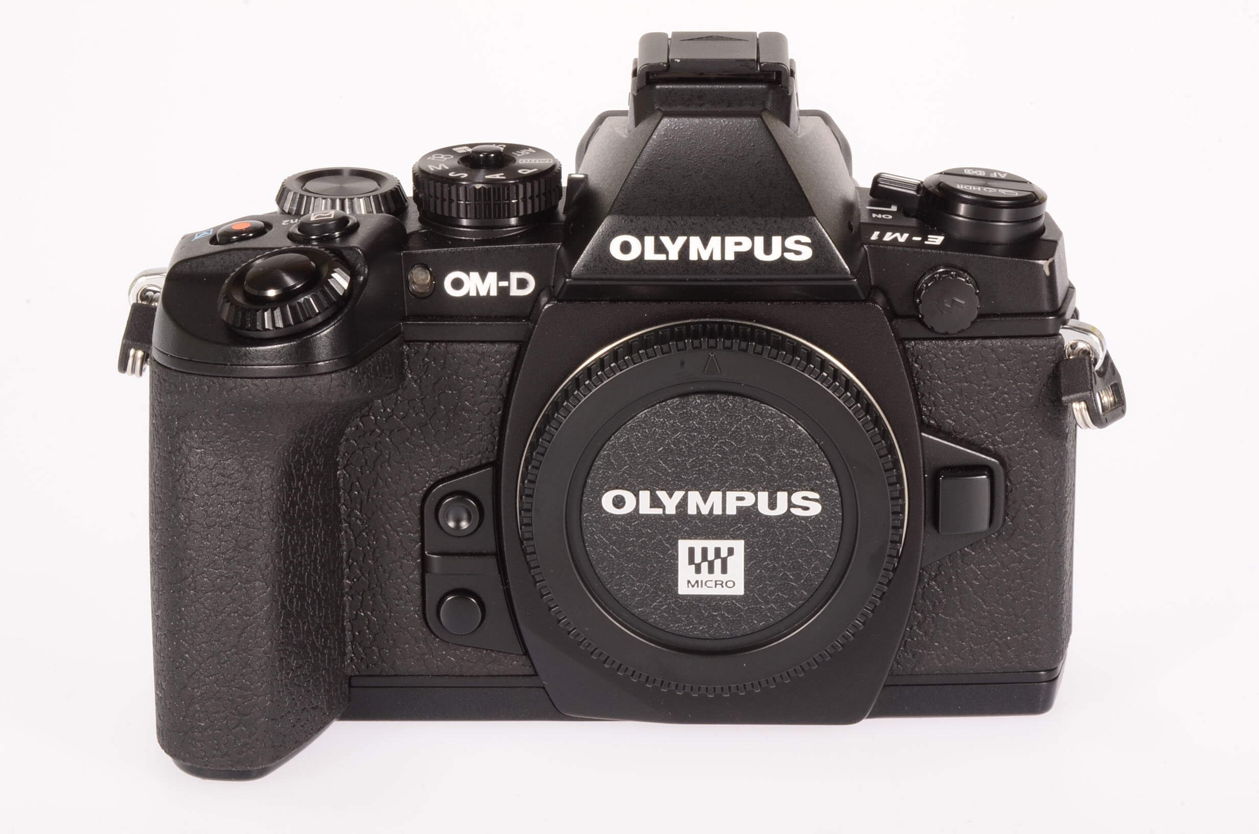 Olympus OMD E-M1 body, only 3960 actuations.