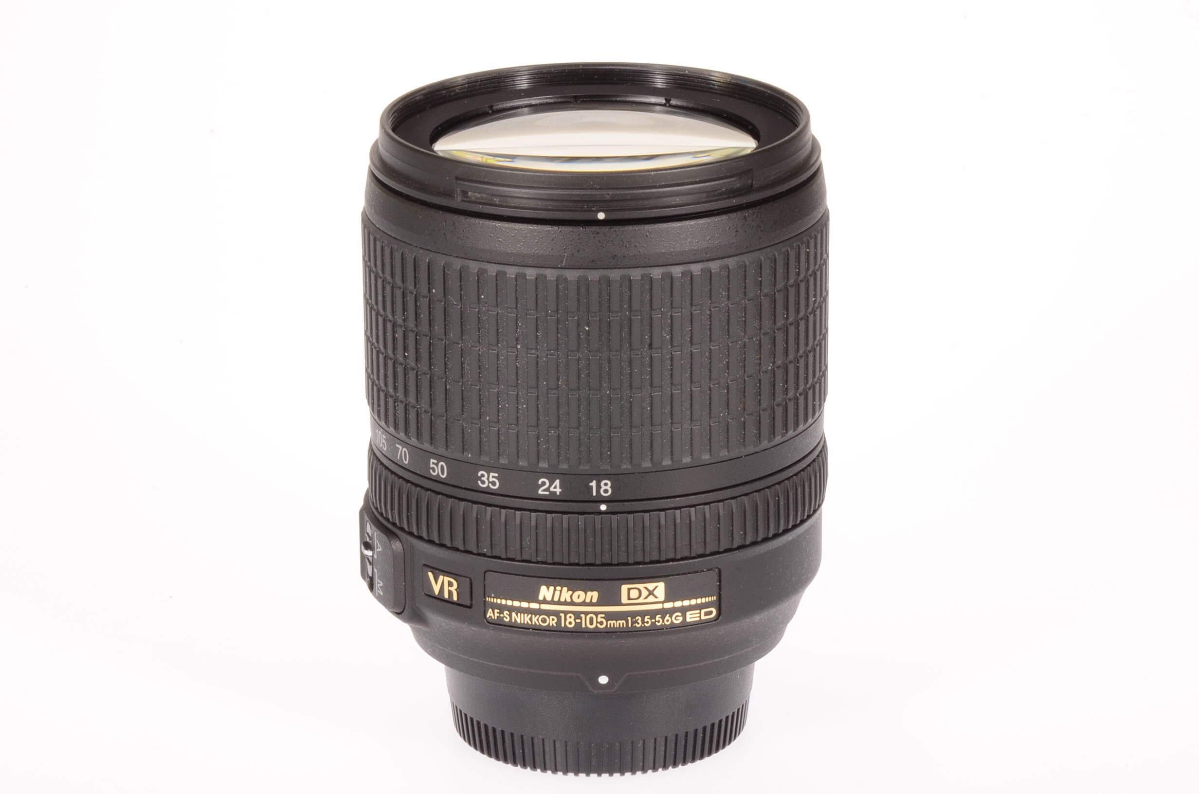 Nikon 18-105mm f3.5-5.6 Nikkor VR AF-S DX, mint!