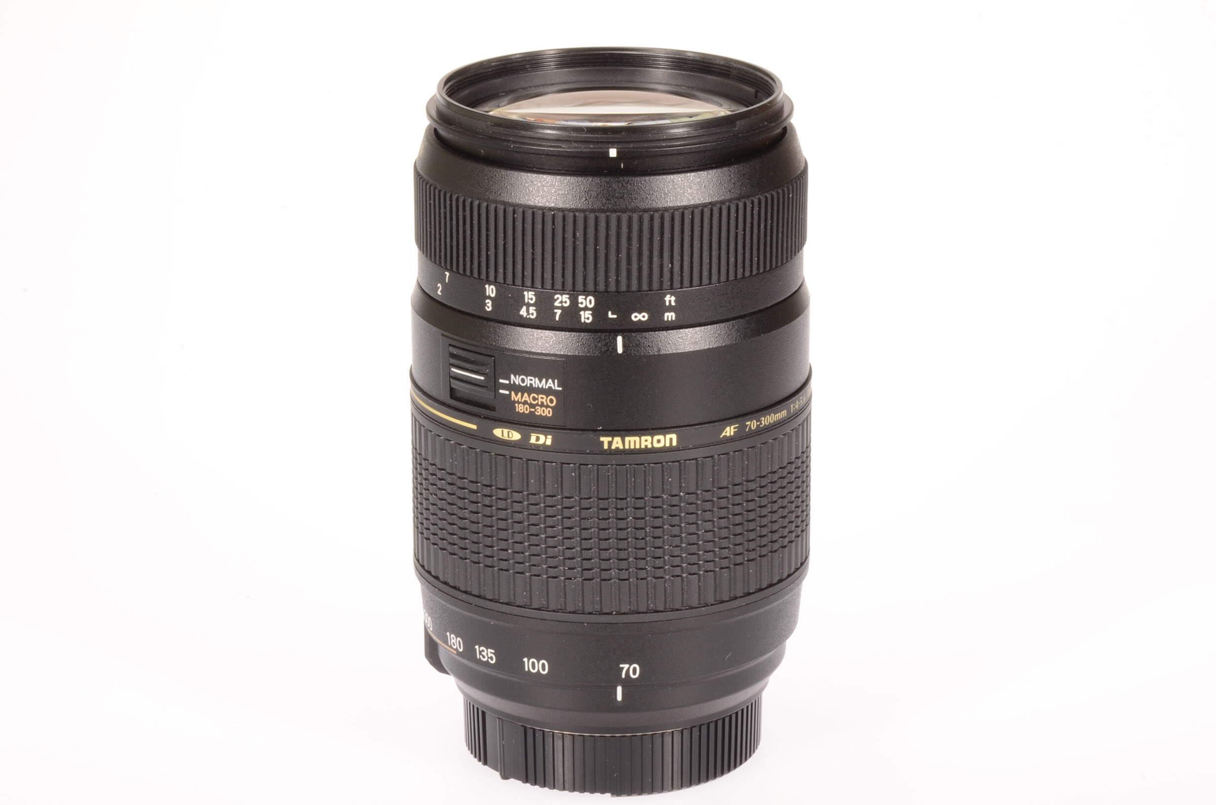 Tamron 70-300mm f4-5.6 AF Di LD, Nikon AF mount, mint!