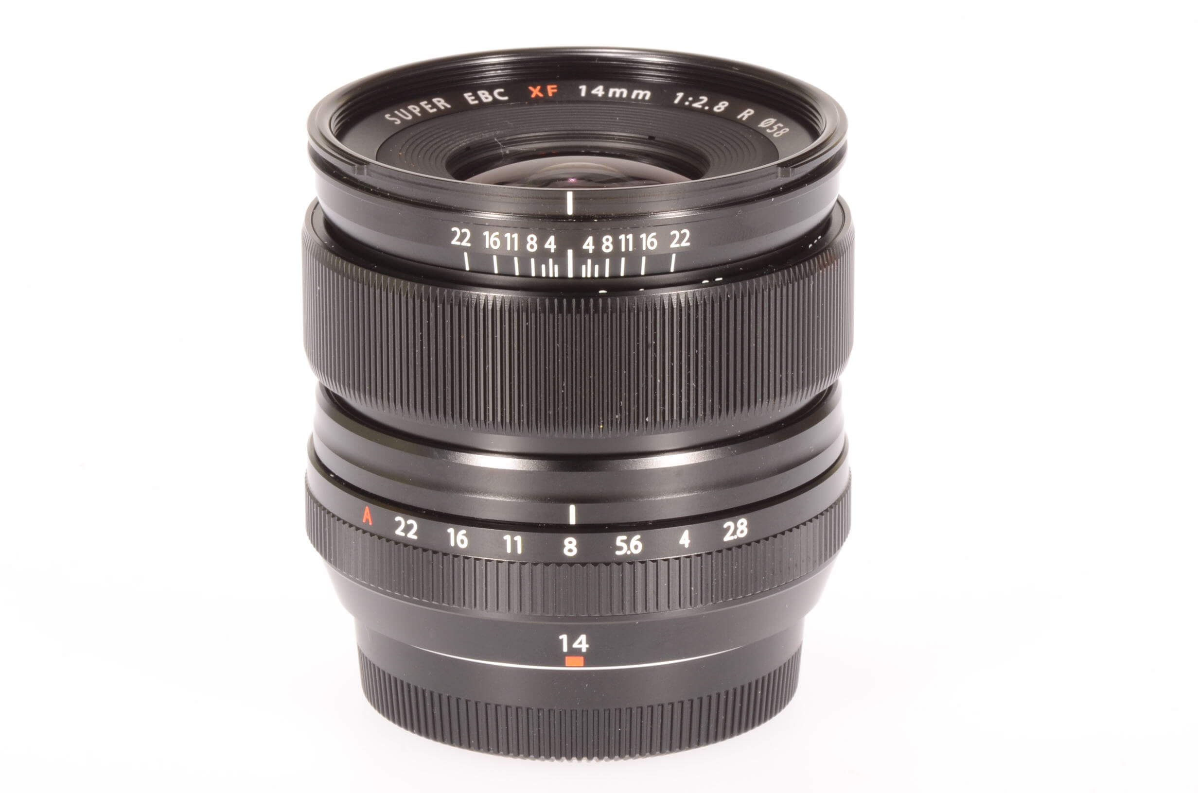 Fuji 14mm f2.8 XF R lens, UK supplied, 2 weeks old!