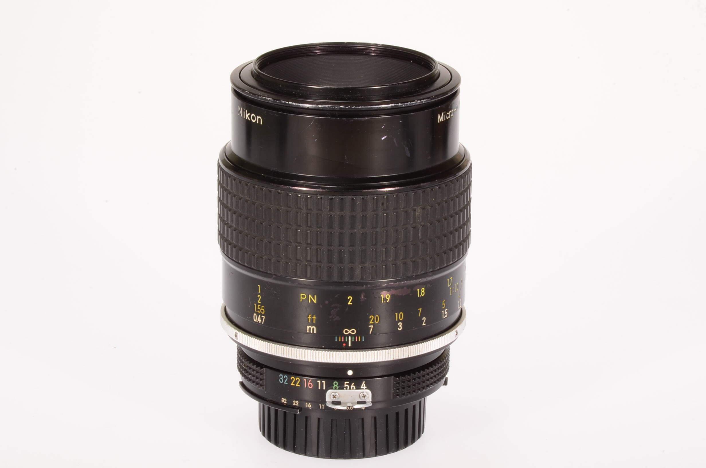 Nikon 105mm f4 Micro-Nikkor, AI, serviced