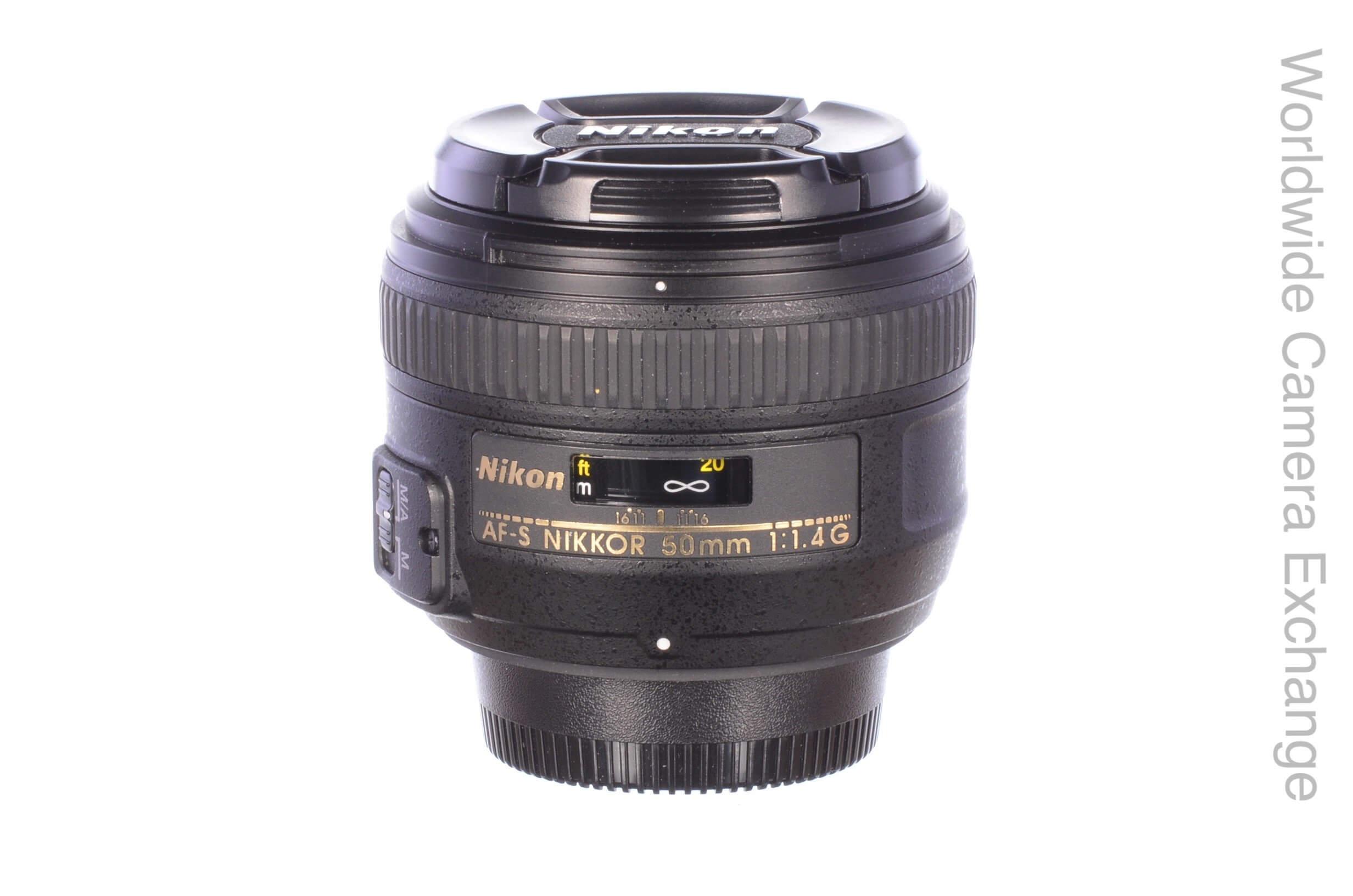 Nikon 50mm f1.4 AF-S G lens, MINT