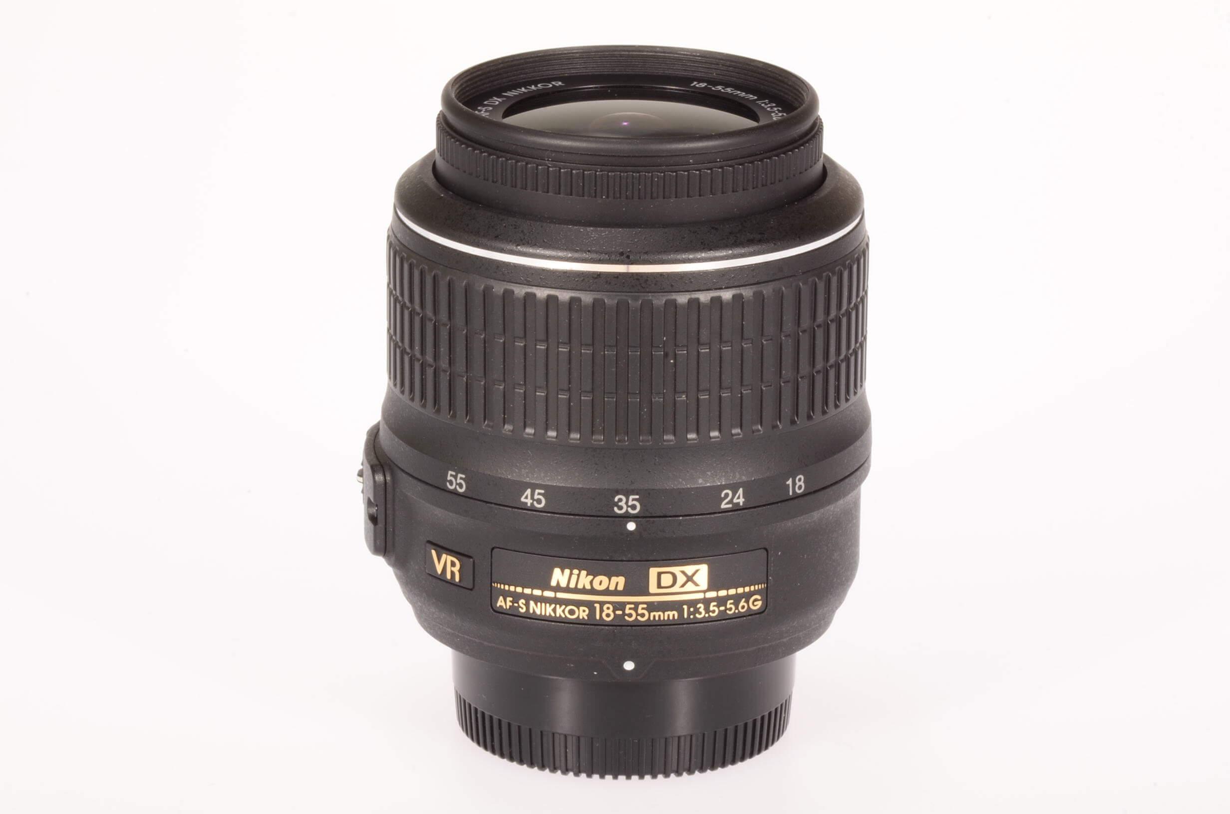 Nikon 18-55mm f3.5-5.6 DX AF-S VR, virtually mint!
