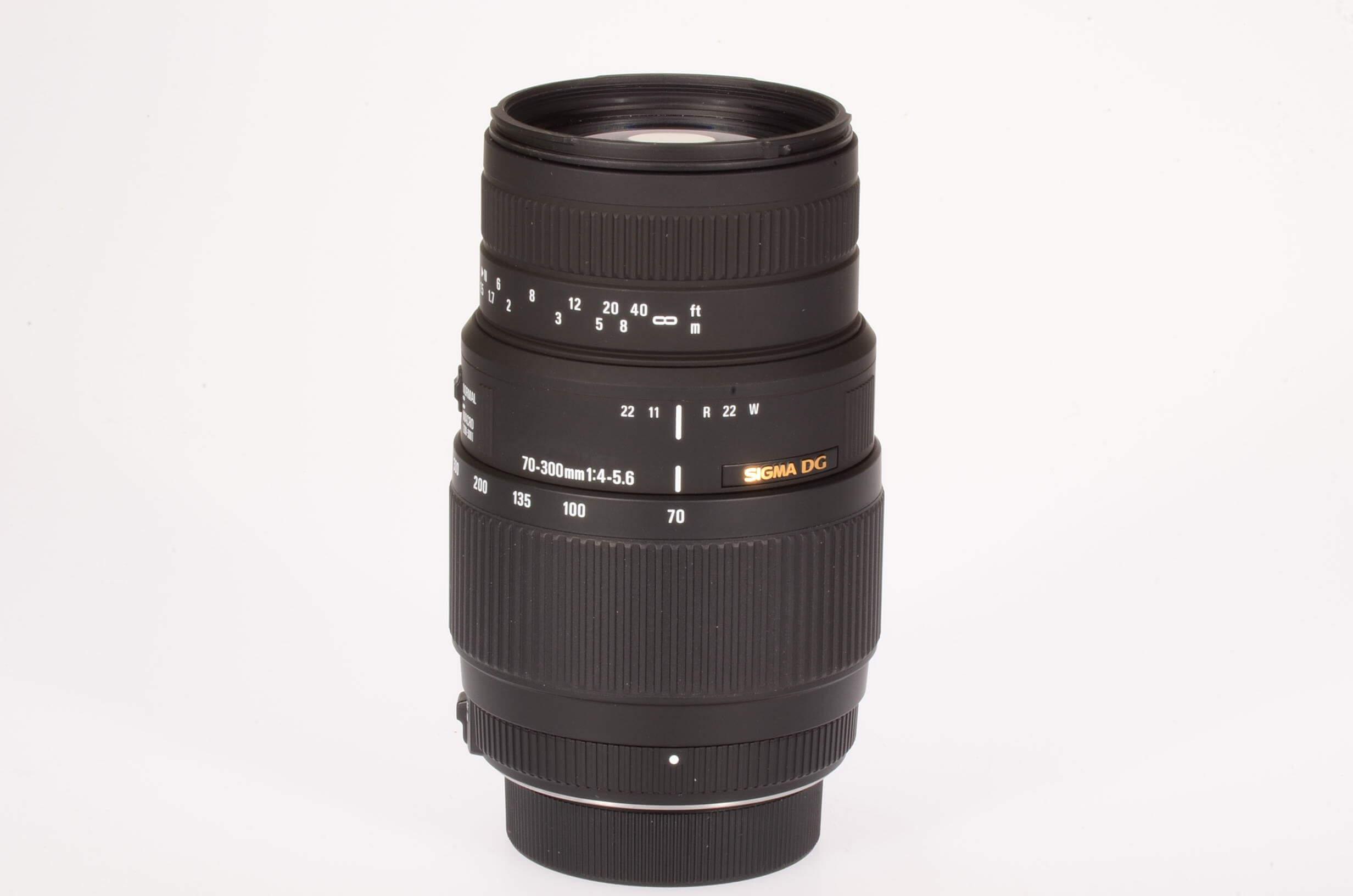 Sigma 70-300mm f4-5.6 DG, Nikon AF-S mount, mint!
