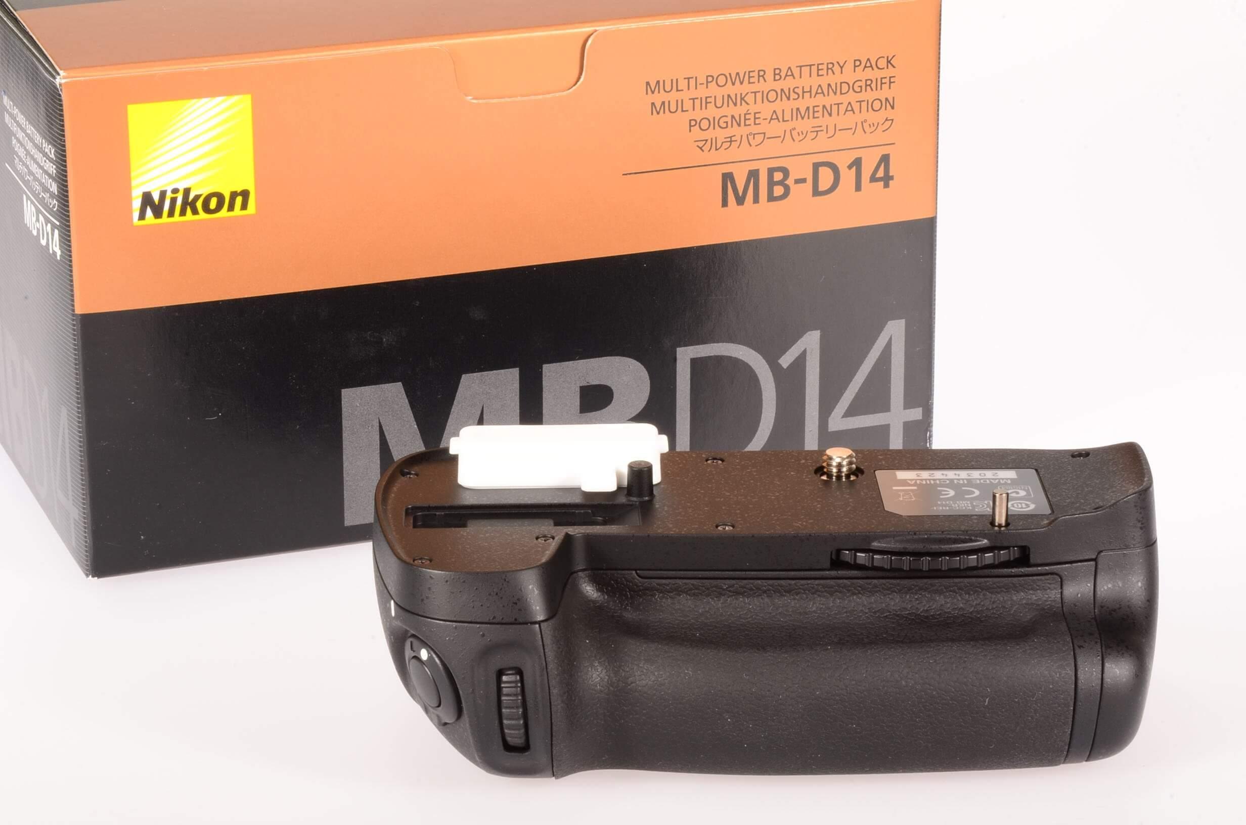 Nikon MB-D14 multi-power battery pack, unused!