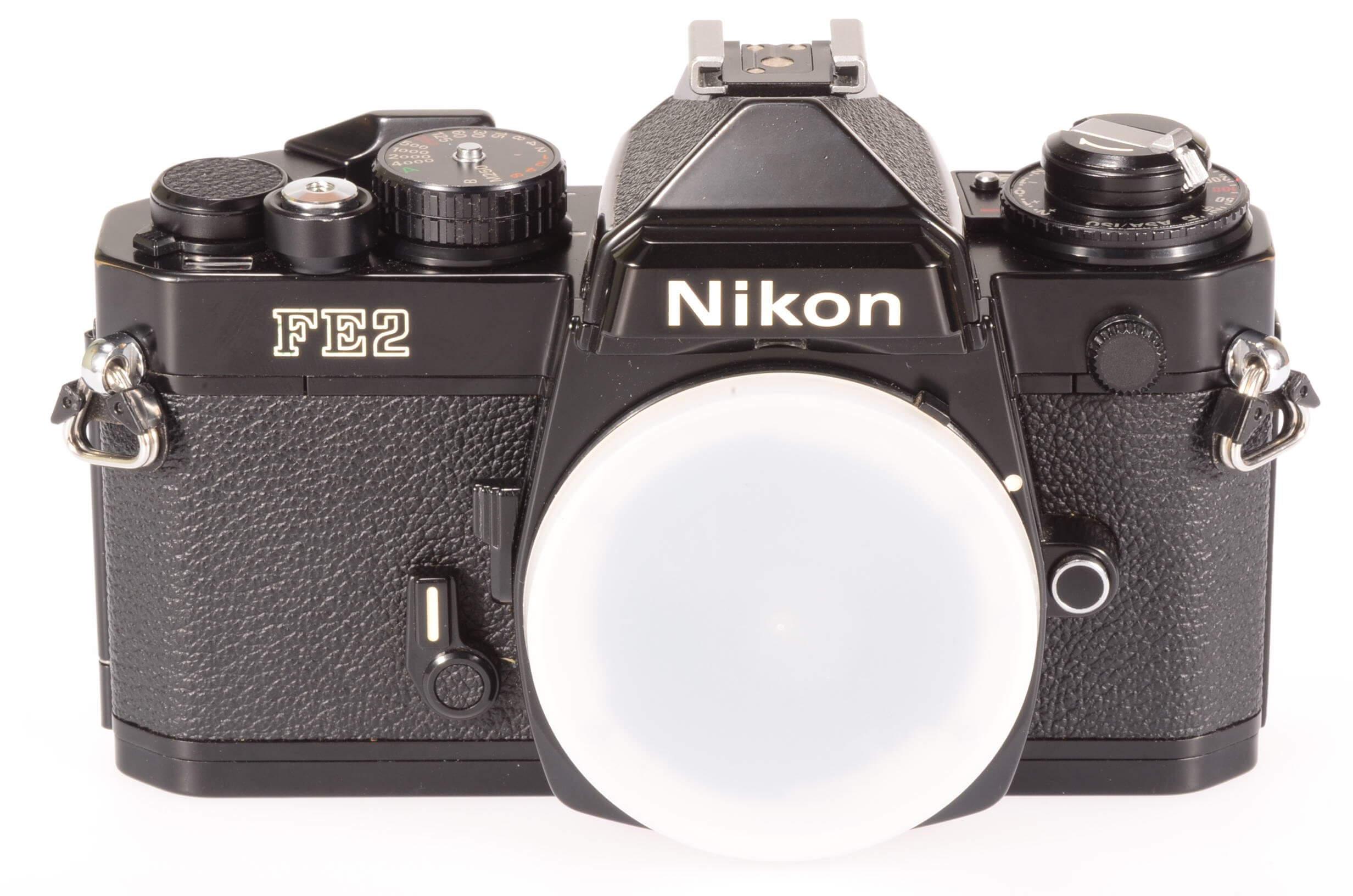Nikon FE2 body, black, almost mint