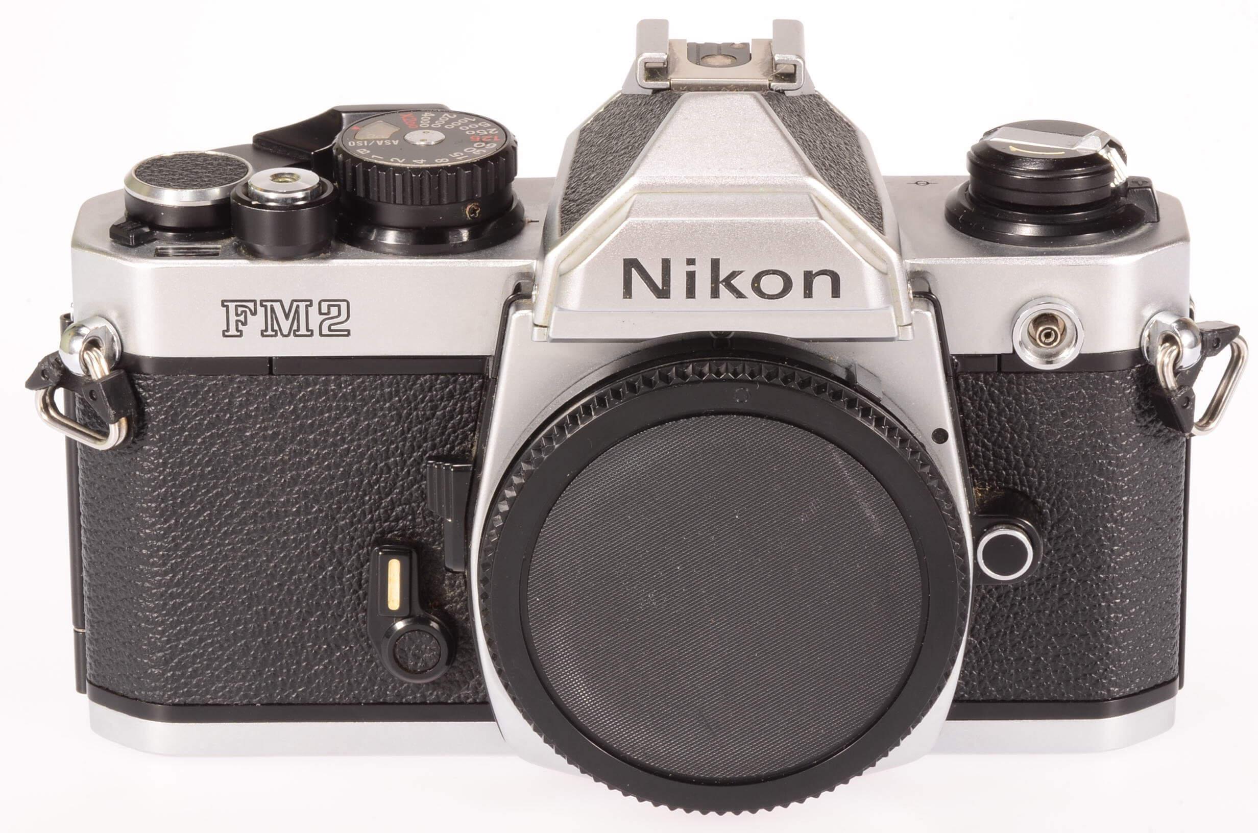 Nikon FM2 body, chrome, almost mint