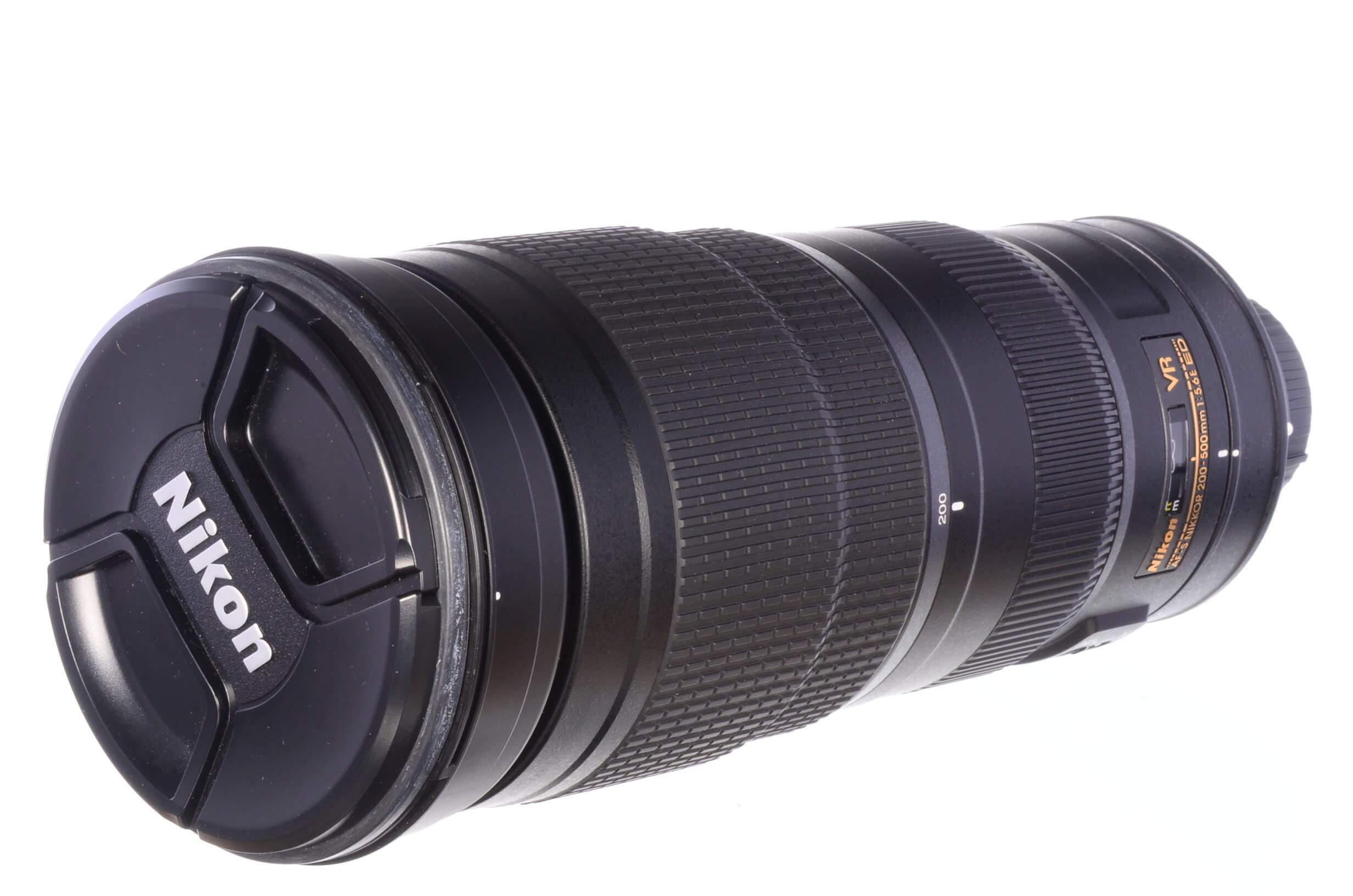 Nikon 200-500mm f5.6 AF-S E ED VR, official UK stock, MINT!