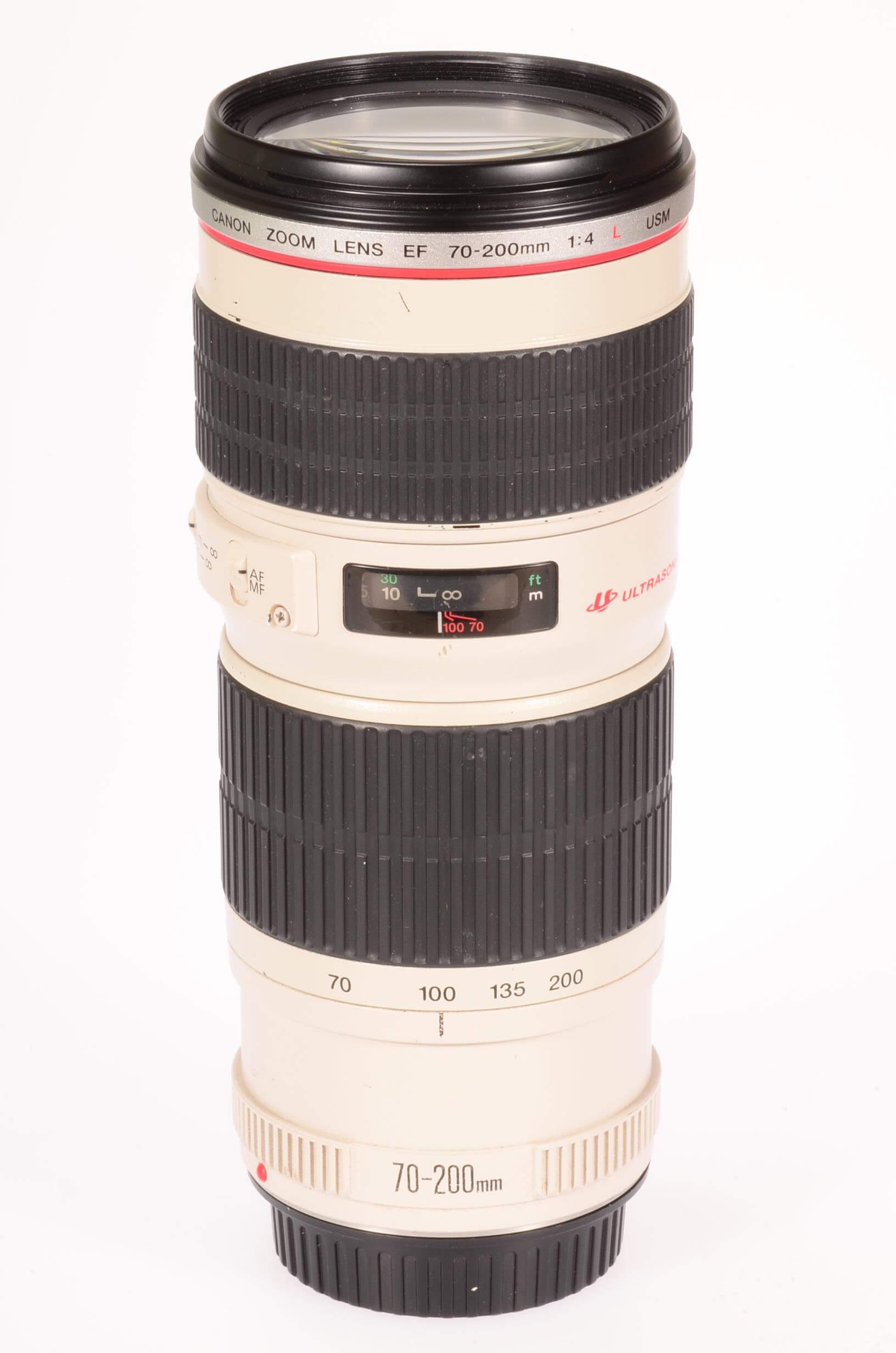Canon 70-200mm f4 USM L lens
