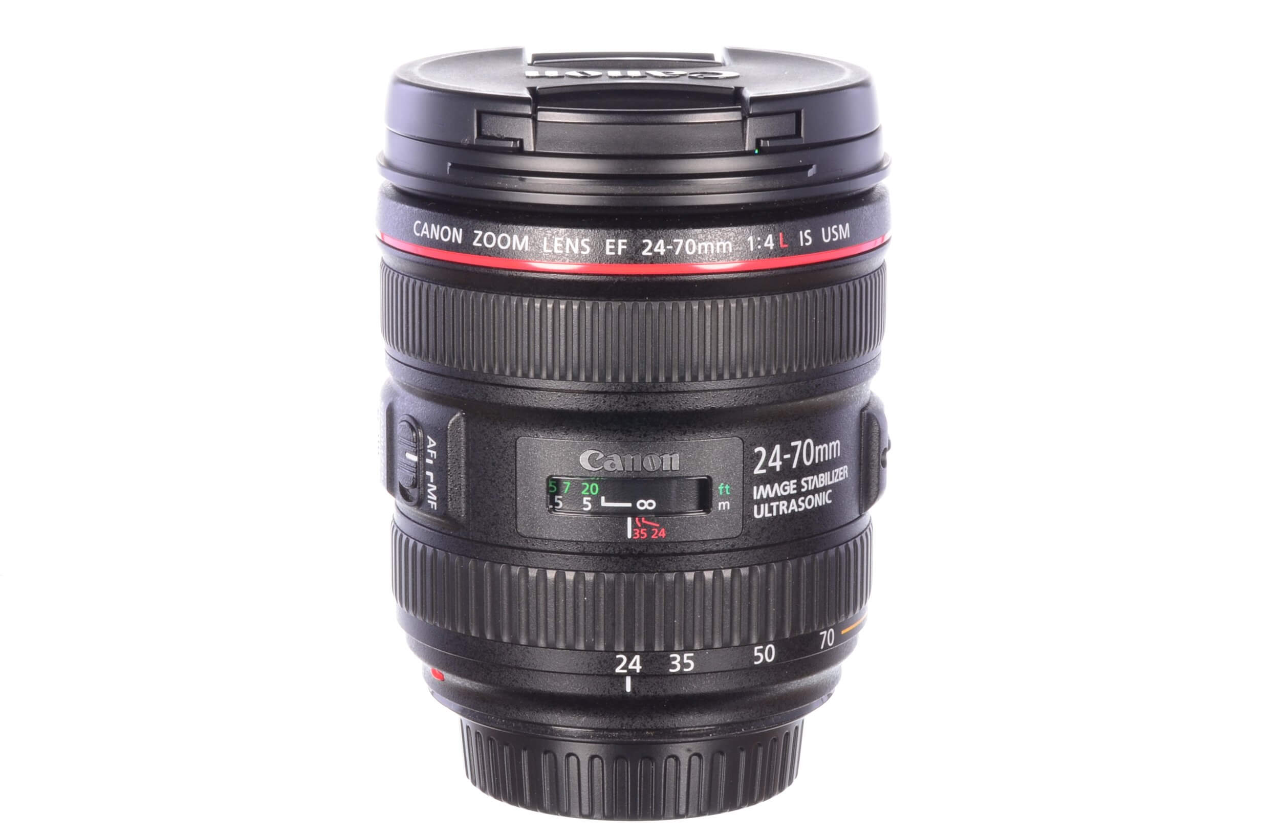 Canon 24-70mm f4 L IS USM, MINT!