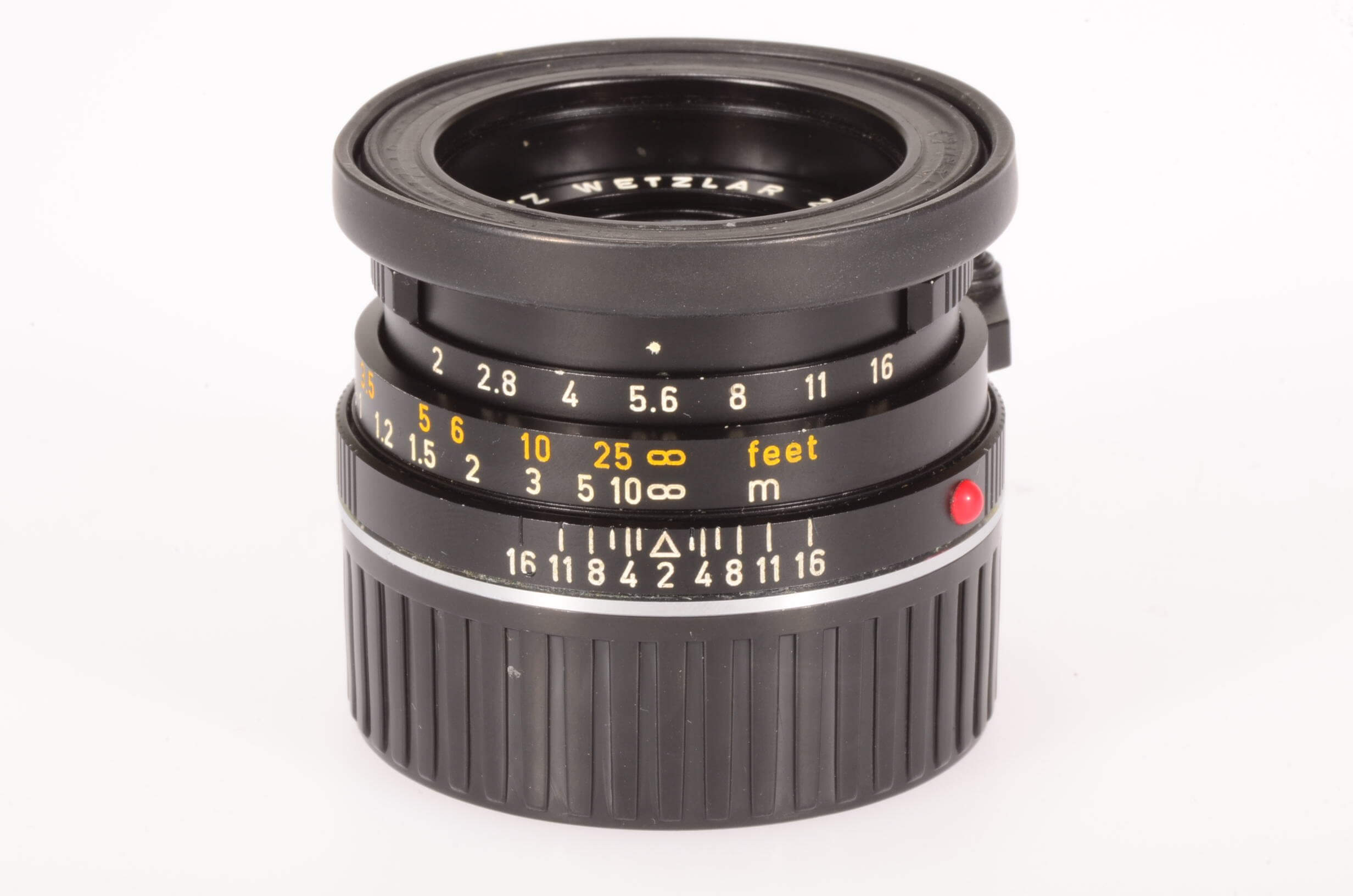 Leica 40mm f2 Summicron C, serviced, almost mint