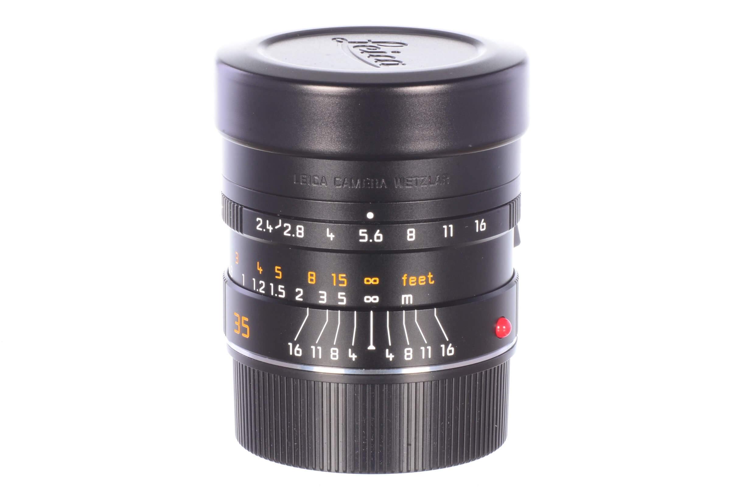Leica 35mm f2.4 Summarit M ASPH, virtually unused!