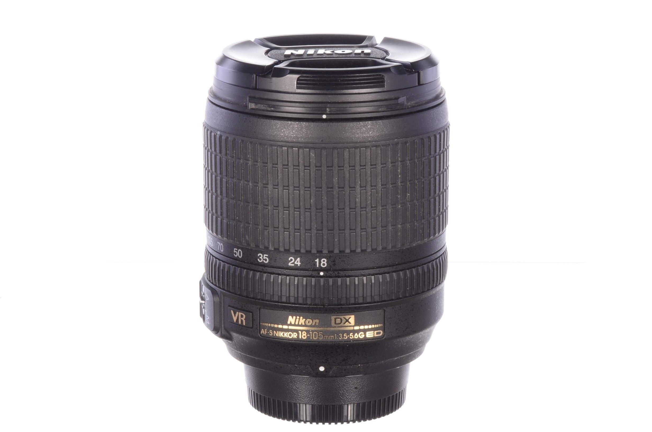Nikon 18-105mm f3.5-5.6 AF-S G ED DX VR, MINT!