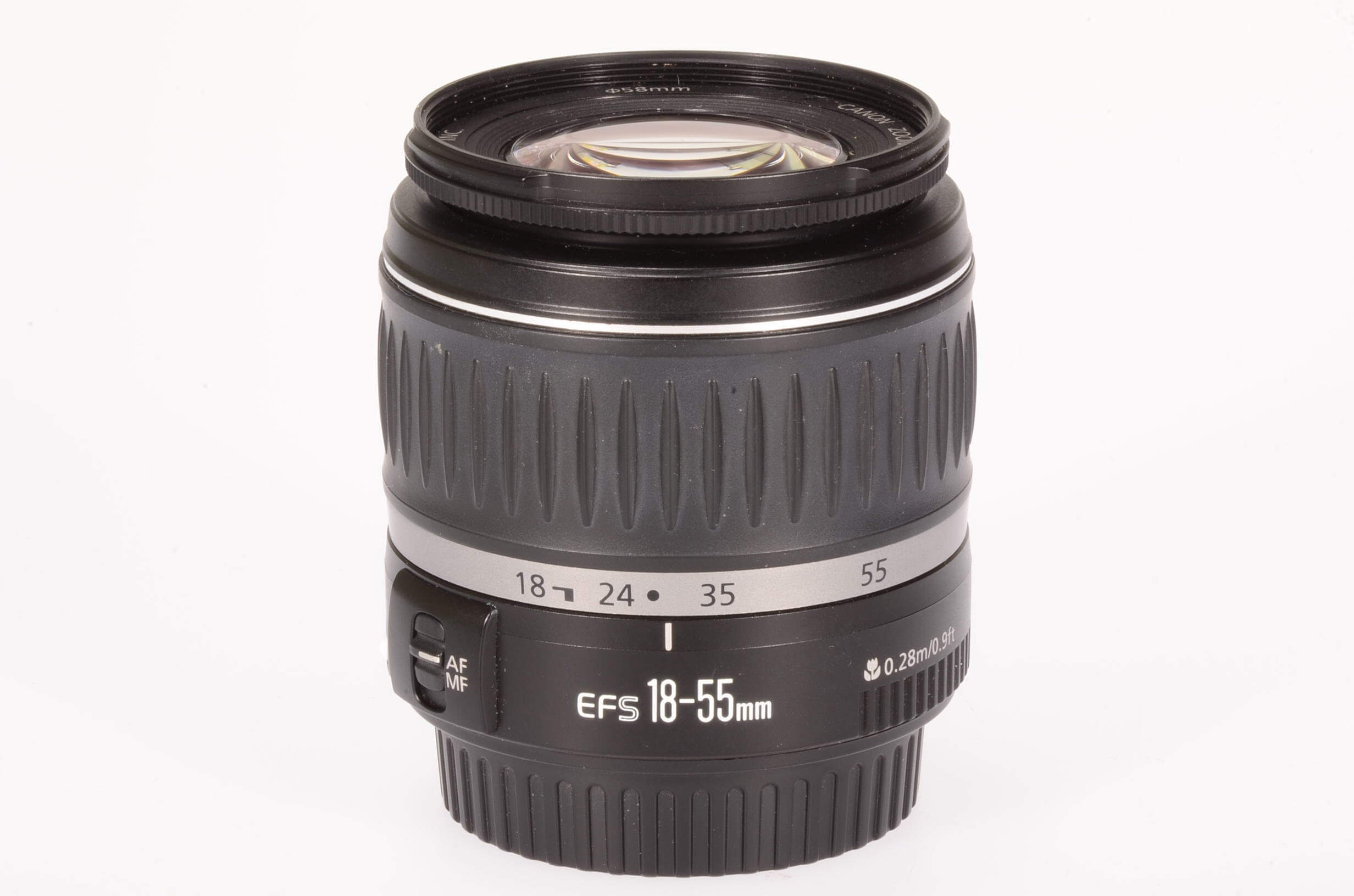 Canon 18-55mm f3.5-5.6 EF-S II, excellent condition