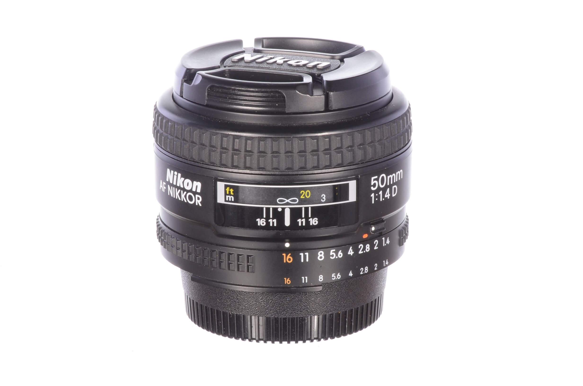 Nikon 50mm f1.4 AF D, MINT!