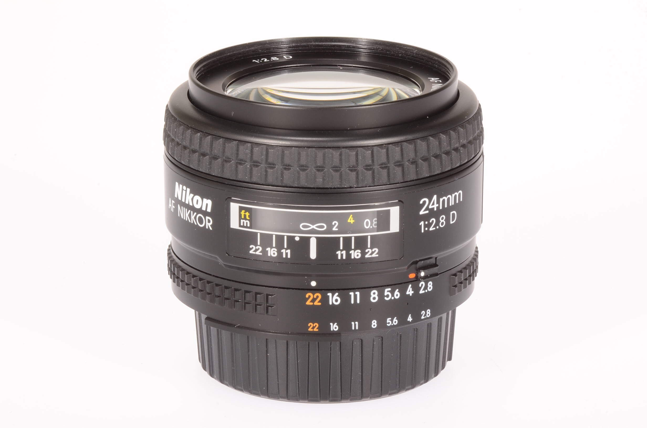 Nikon 24mm f2.8 AF D, boxed and 100% mint!