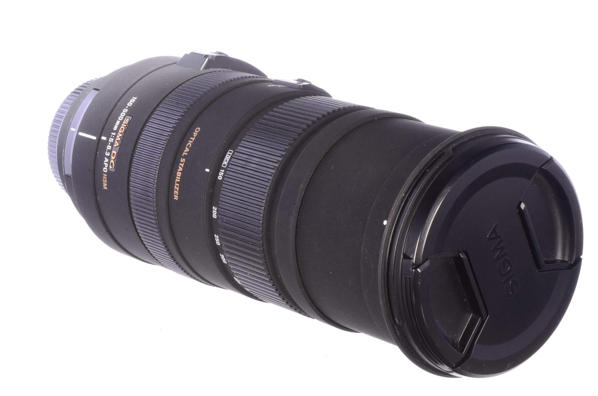 Sigma 150-500mm f5-6.3 DG APO HSM, Canon fitting