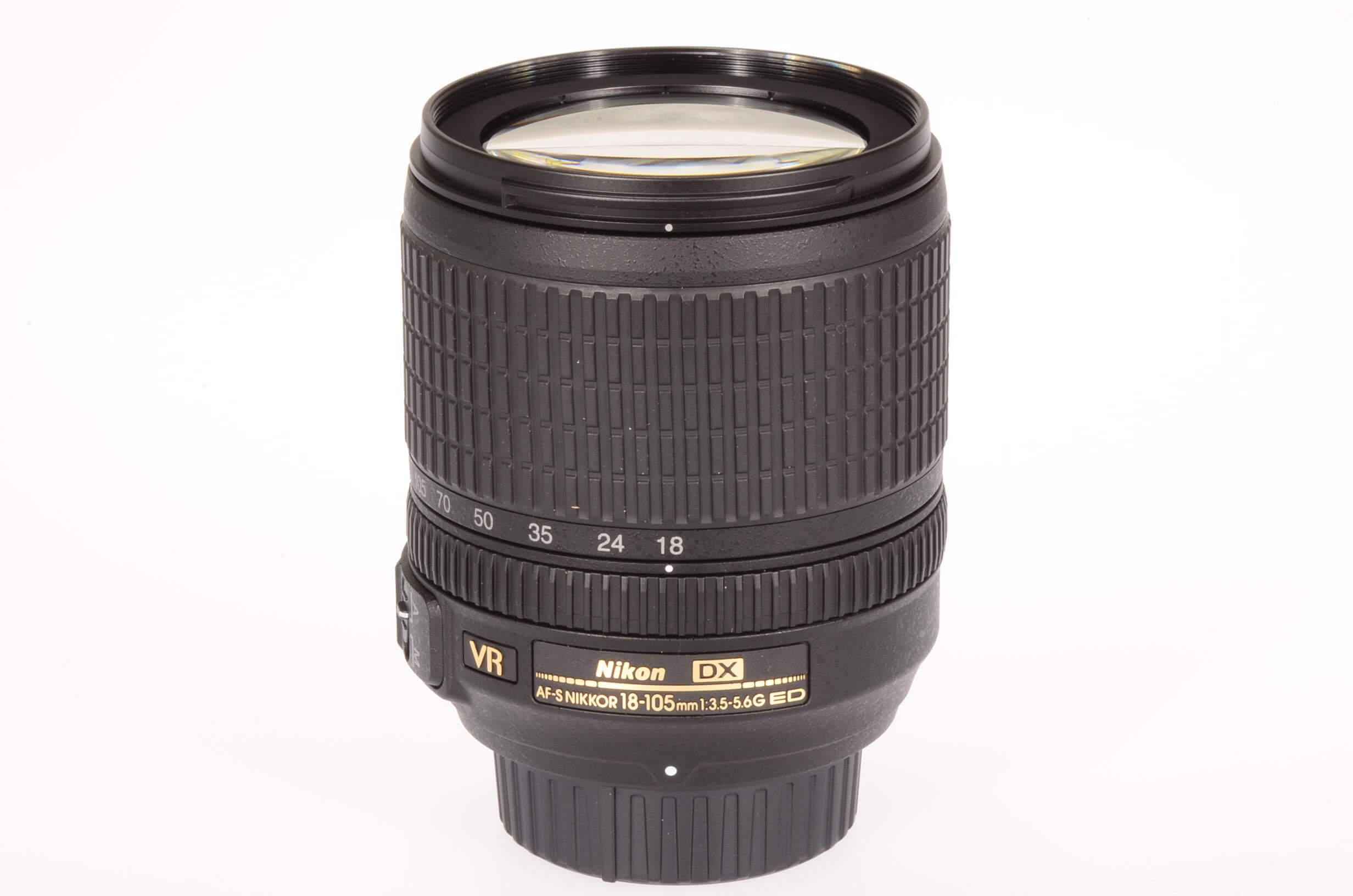Nikon 18-105mm f3.5-5.6 AF-S VR G lens, unused!