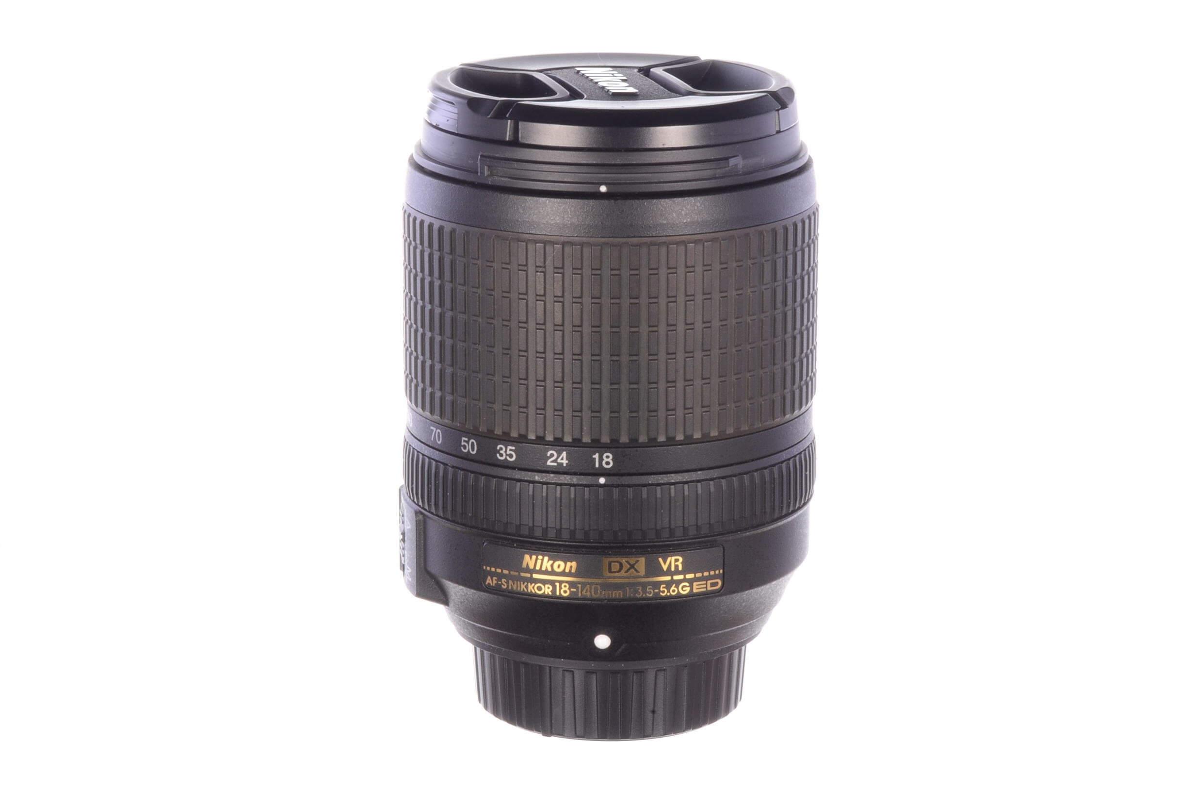 Nikon 18-140mm f3.5-5.6 AF-S DX VR G ED, MINT!