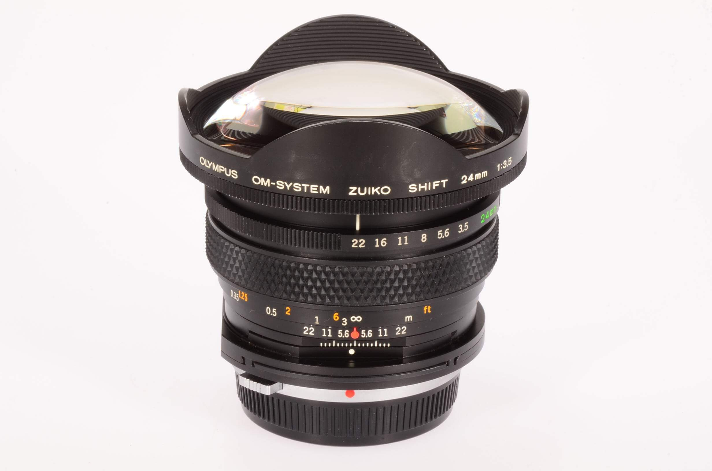 Olympus 24mm f3.5 Zuiko Shift lens, rare!