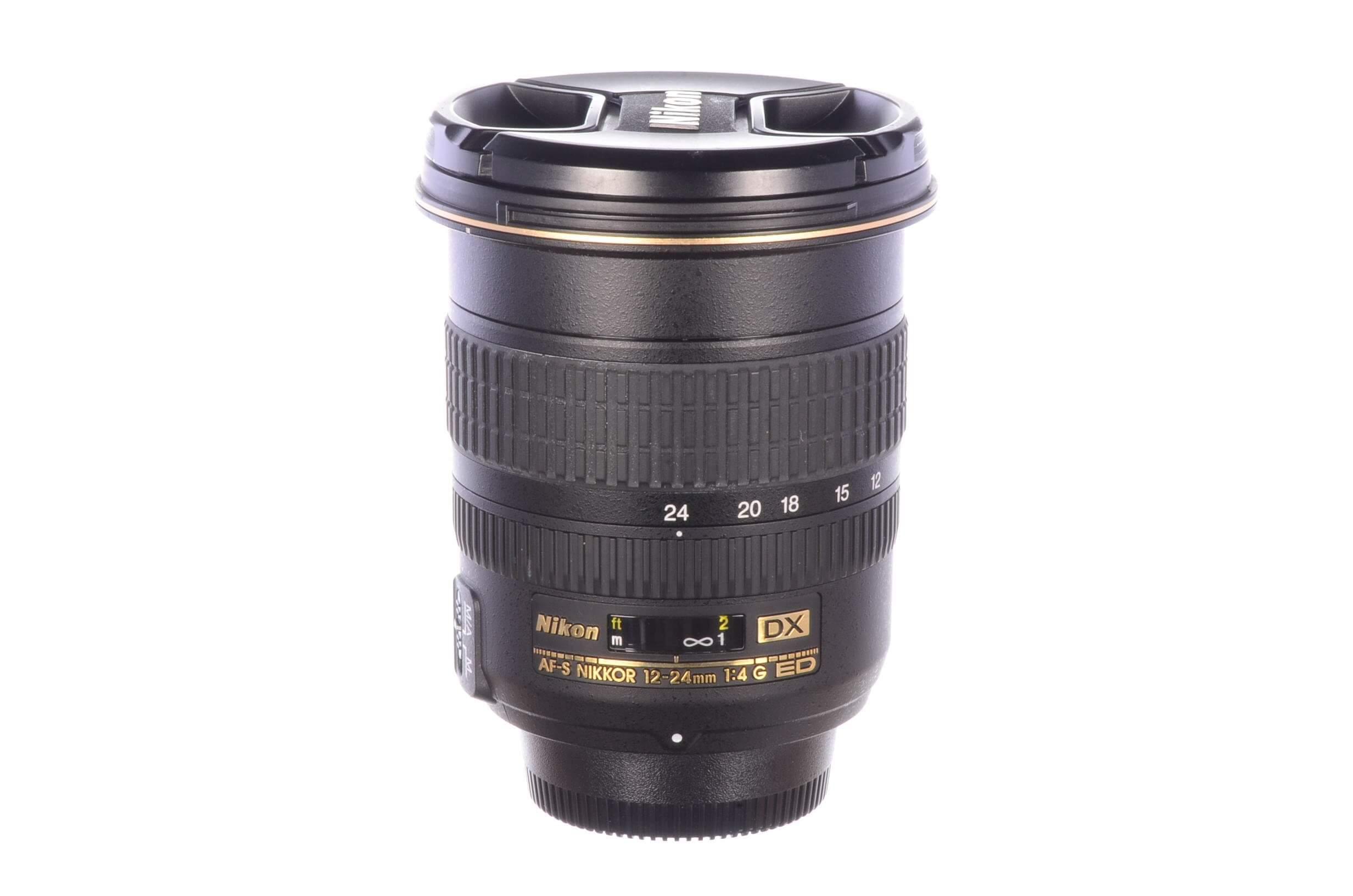 Nikon 12-24mm f4 AF-S DX G ED, MINT!