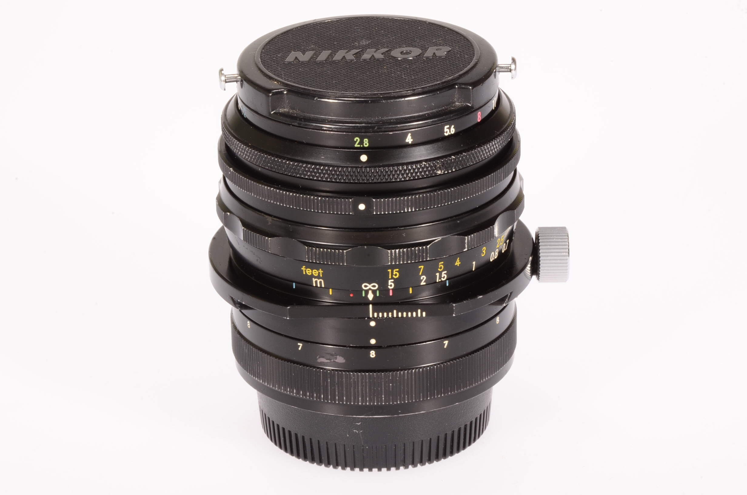 Nikon 35mm f2.8 PC Nikkor, serviced