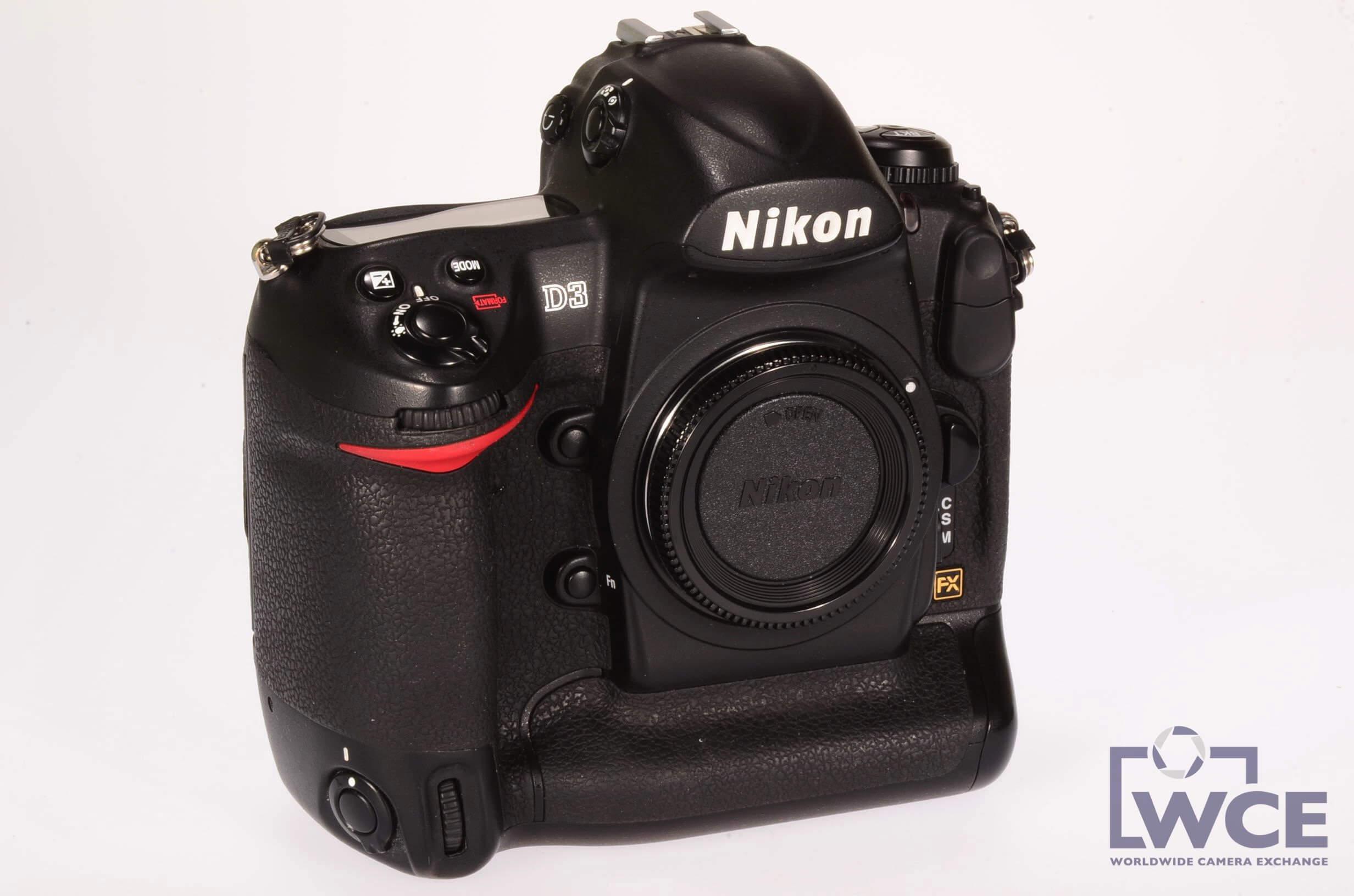 Nikon D3 body, excellent condition, low actuations